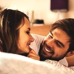 libido men and women close together in bed