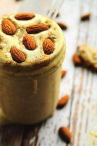 Maca almond shake
