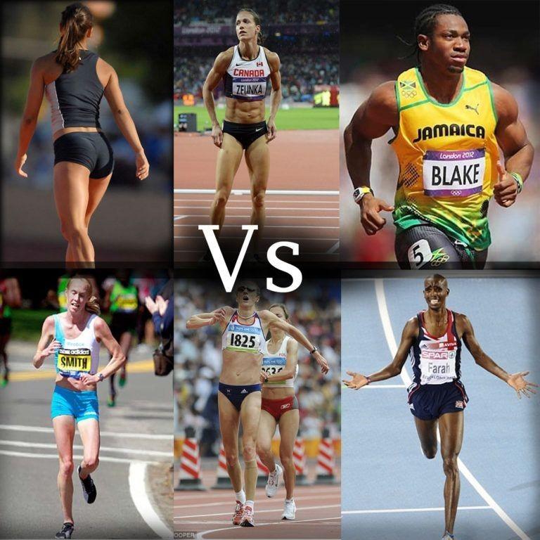 running VS strength training-muscle figure
