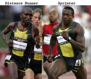 explosive power sprinter