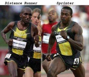 explosive power sprinter
