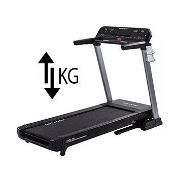Treadmill weight-of-the-device