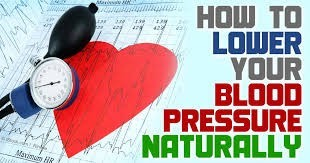 reduce high blood pressure without medication