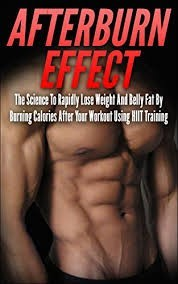 Afterburn effect man shows 6pack