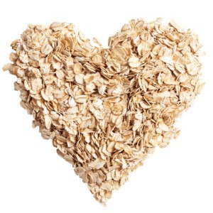 oatmeal-heart shape