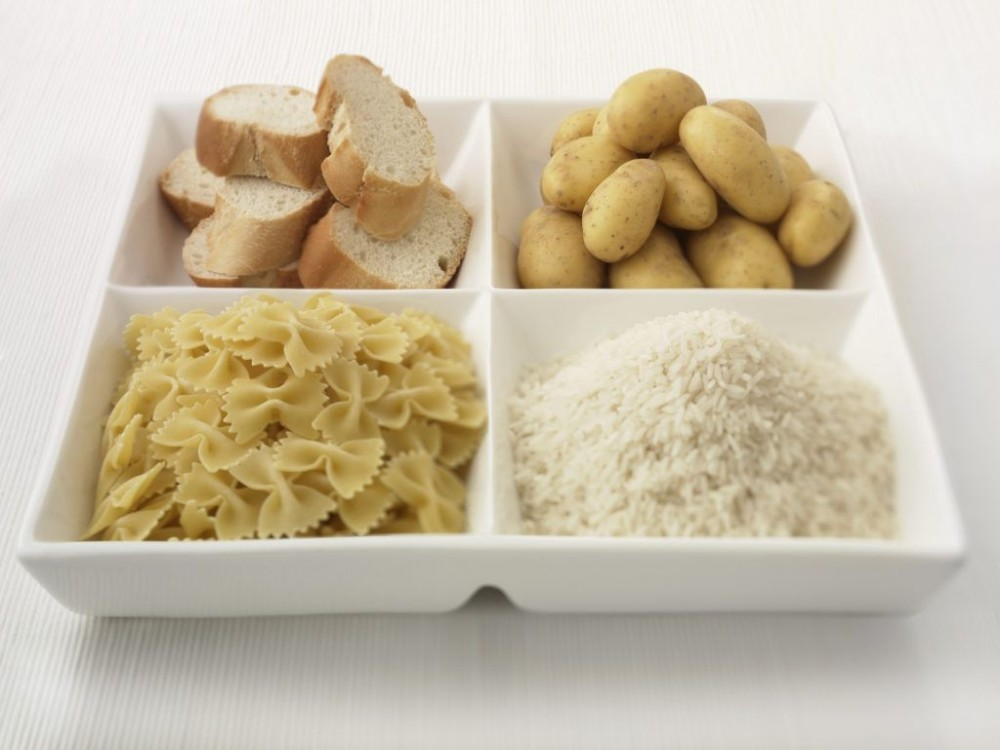 low carbohydrate diet healthy (Bread, Potato, Pasta, Rice)