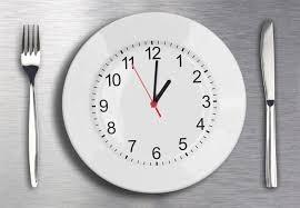 plate looks like clock