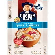 Quaker Oats package