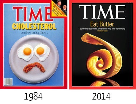 Time magazine about fat food