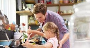 prepare food with love show your kids how to do