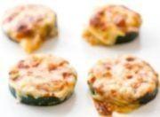 zucchini pizza pieces