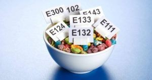 E numbers in food