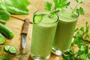 spinach parsley smoothie