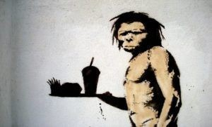 prehistoric man mcdonalds