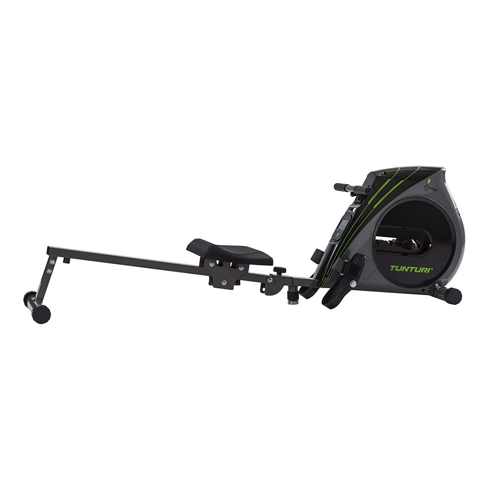Tunturi Unisex's R20 Rower Machine, Black