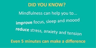 Mindfulness improves the attention to tension and focus
