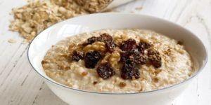 plate-oatmeal