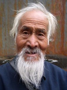 Japanese man on age