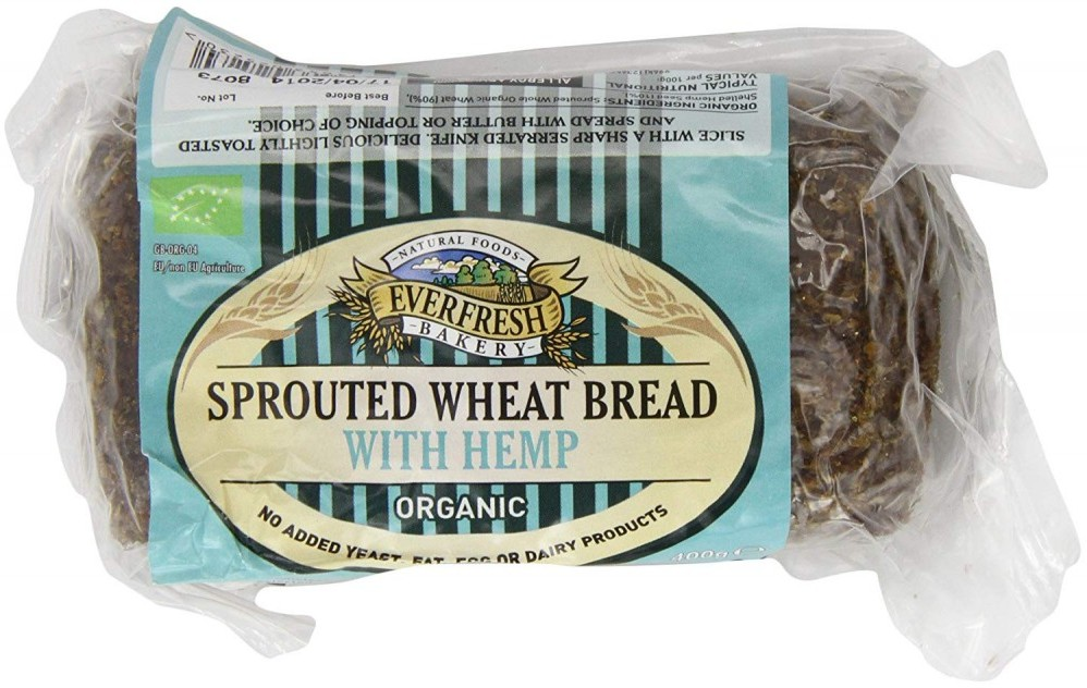 sprouted wheat bread