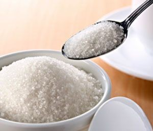 sugar jar and spoon