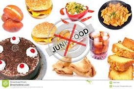 say no to junk food