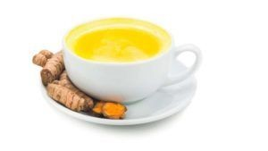 Tumeric green tea