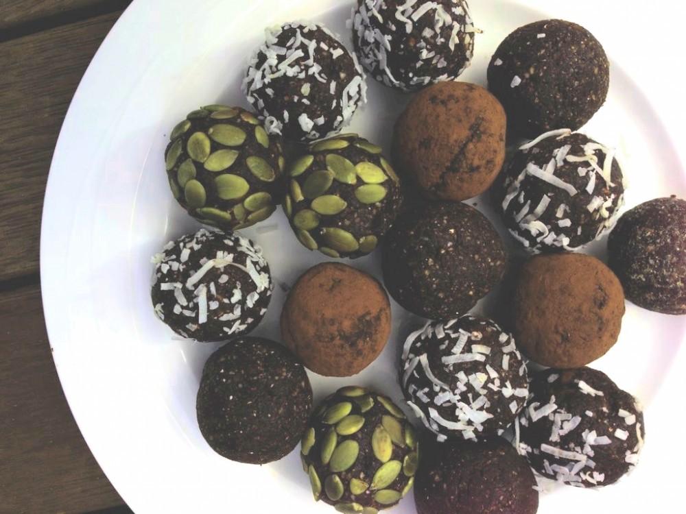 Maca chocolate balls
