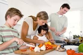 Let your child help with preparing food