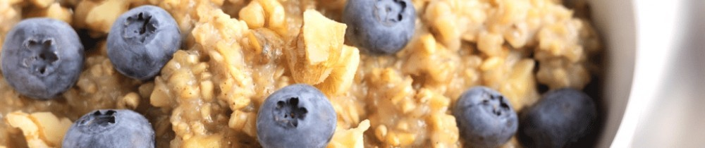 atmeal with walnut & blueberries