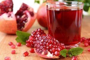 drink pomegranate juice