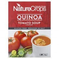NatureCrops tomato soup with quinoa
