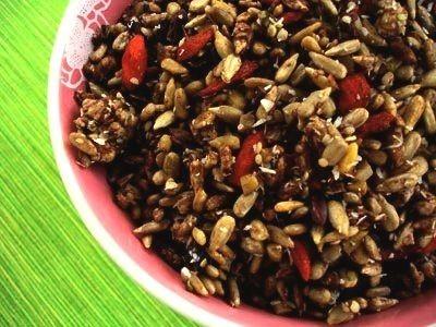 Hemp seed energy boost