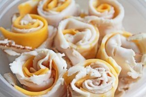 turkey cheese wraps