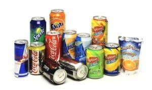 Soft drinks and sugars
