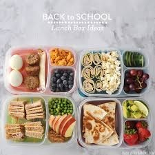 Back to schools lunchbox idea