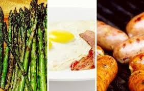 asparagus-eggs-sausages