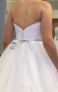 too-tight dress