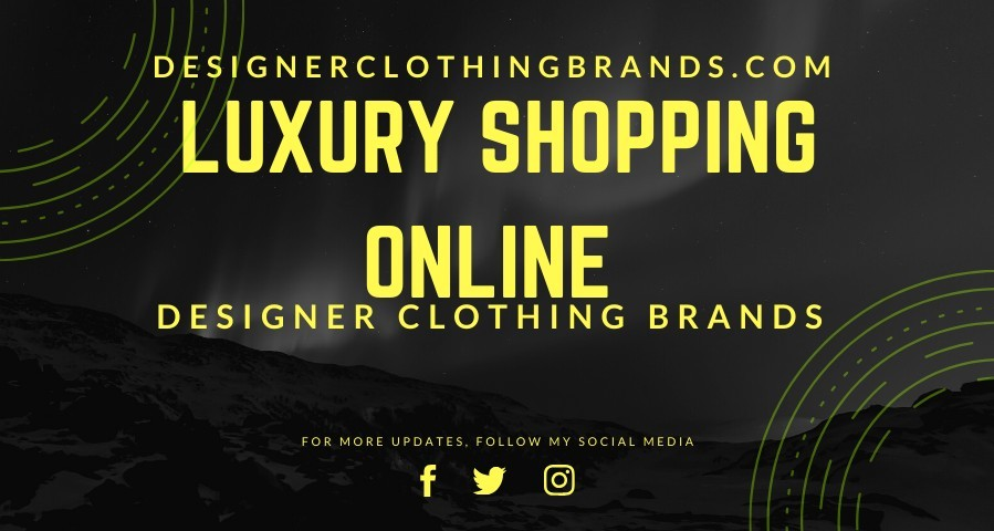 Designer Clothing Brands Banner
