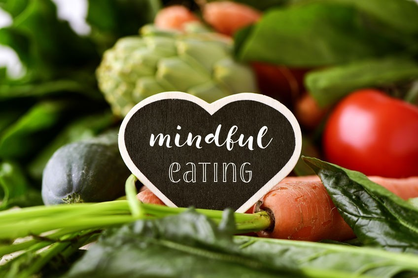 being mindful of what we eat