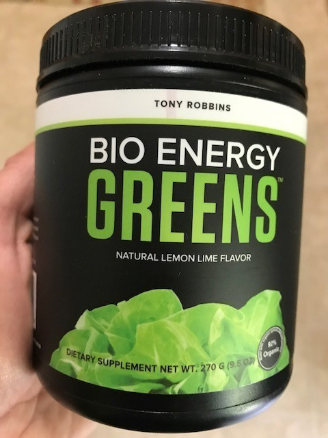 Tony Robins Bio Energy Greens