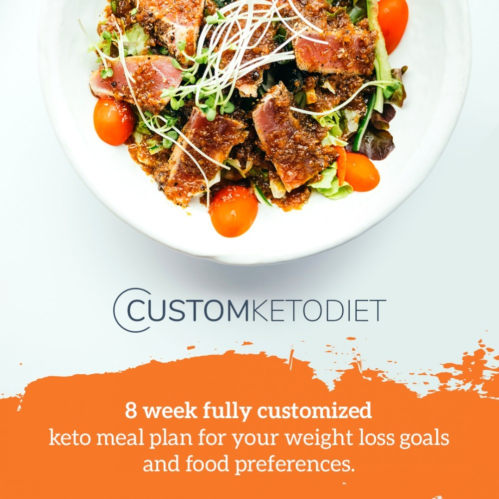 Custom Keto Diet 8 weeks plan