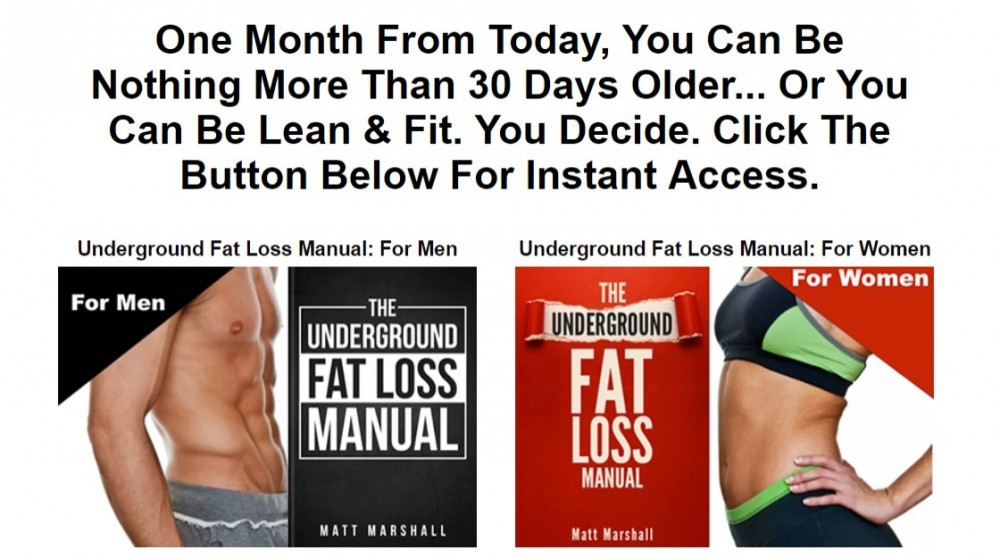 fat loss manual