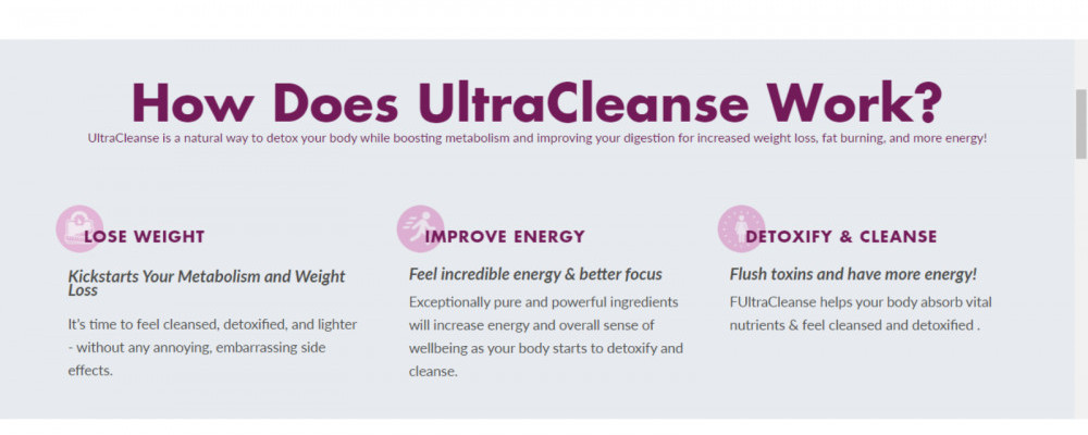 HealthyGen How Does Ultra Cleanse Work