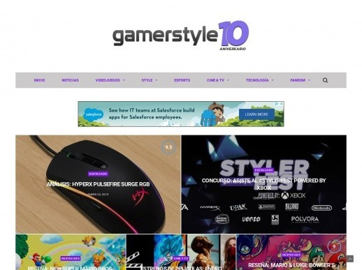 gamesrstyle 10 wordpress theme