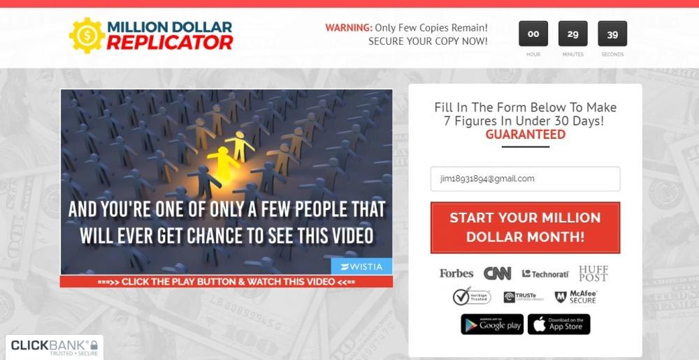 million dollar video