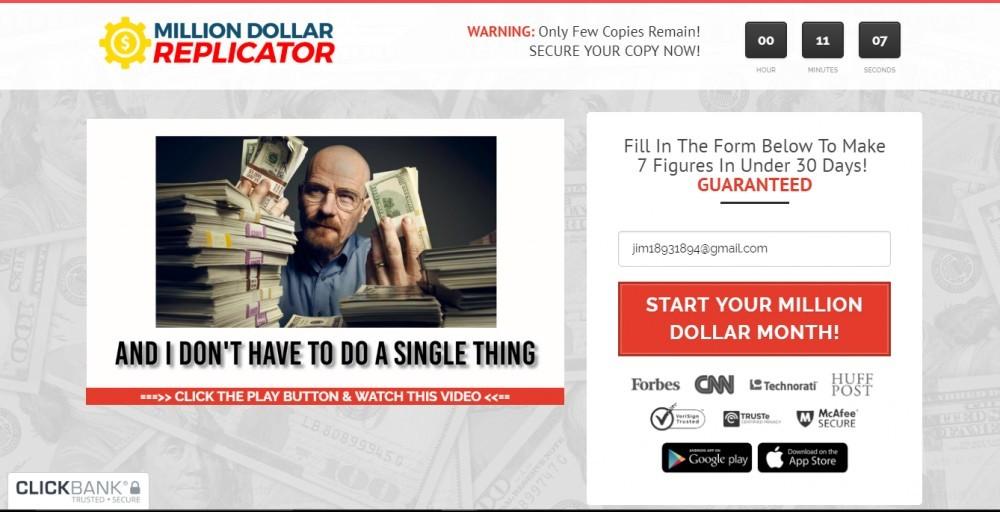 million dollar scam