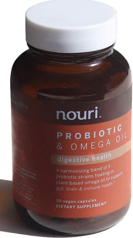 Nouri, Oil Probiotic and Omega Digestive
