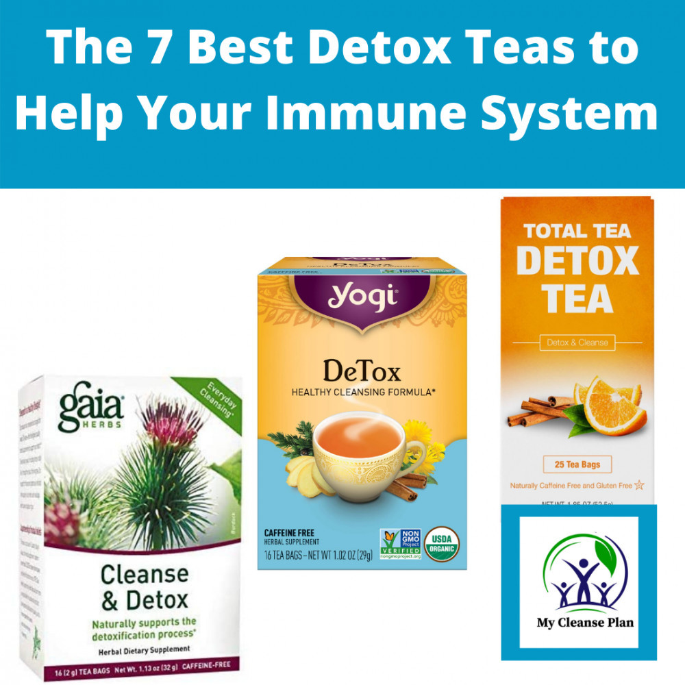 The 7 Best Detox Teas to Help Your Immune System