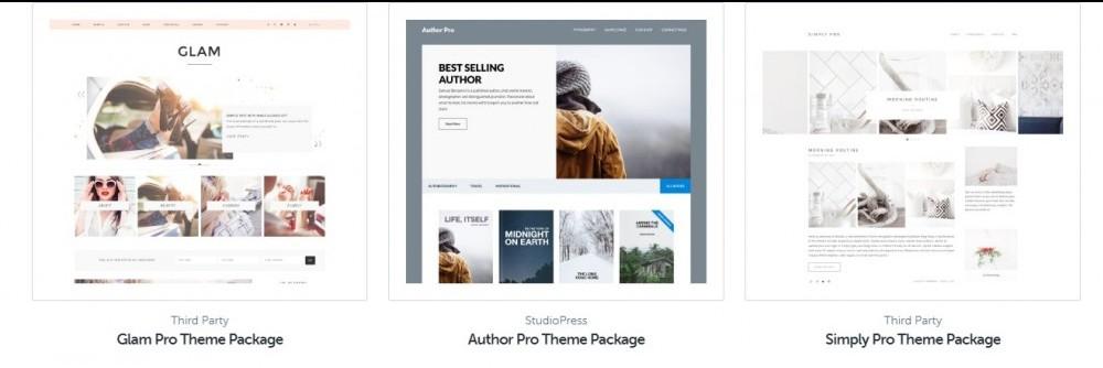 ecommerce studiopress themes