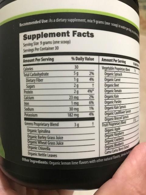 Bio Energy Nutrition